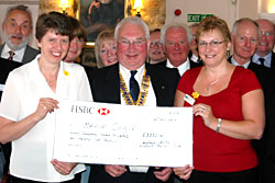 Marie Curie cheque