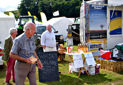 Exmoor Rotary at Dunster Show