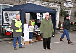 Exmoor Rotary at Bampton Fair