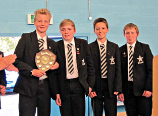 Uffculme Challenge runners-up
