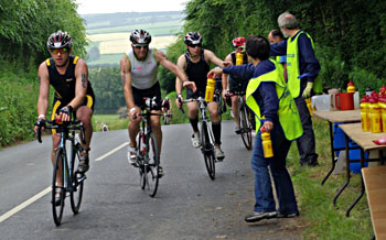 Exmoor Rotary at Ironman Wimbleball