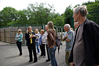 Exmoor Rotary visit the Dogs Trust