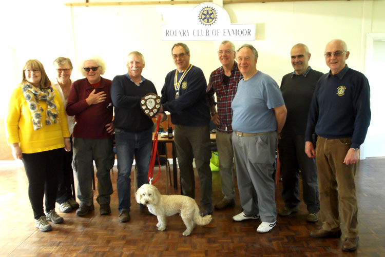 Exmoor Challenge presentation of shield