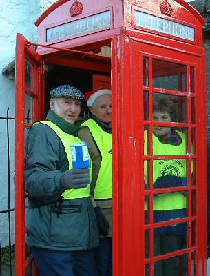 How many Rotarians can you get in a phone box?